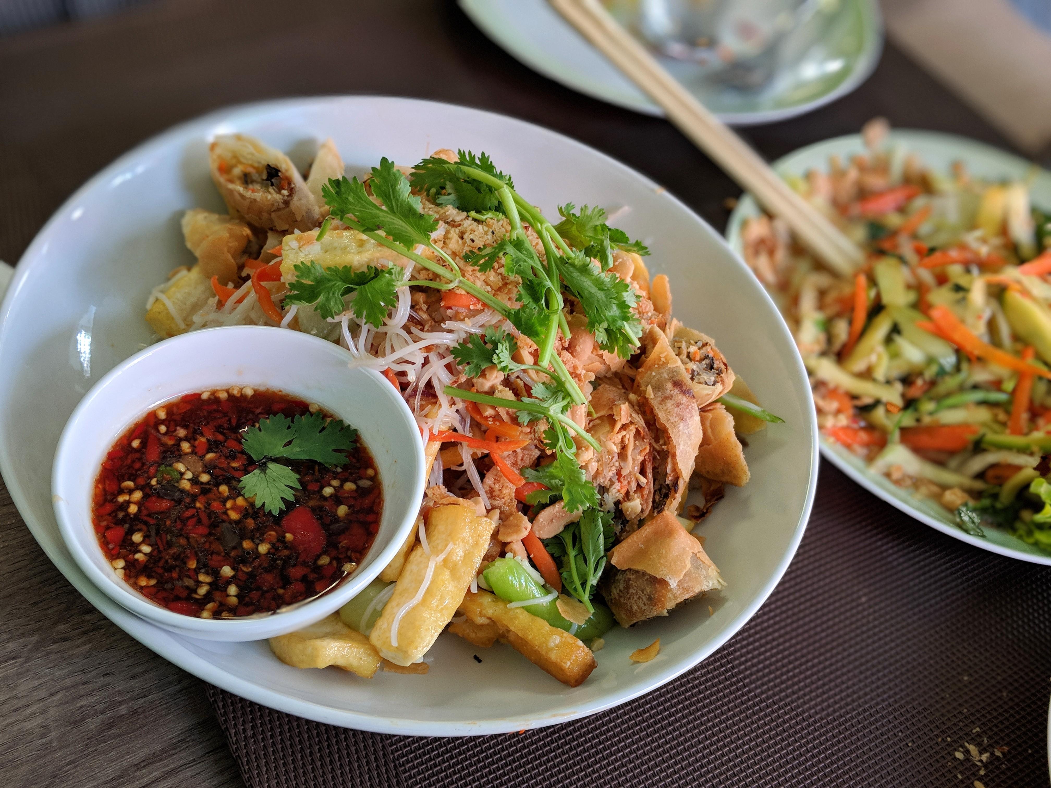 Des plats vietnamiens et tout ce qu'il pho