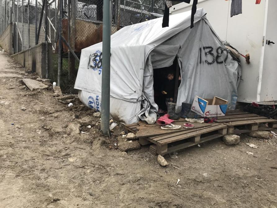 Une immense souffrance  dans les centres hotspot en Grèce selon MSF et le HCR