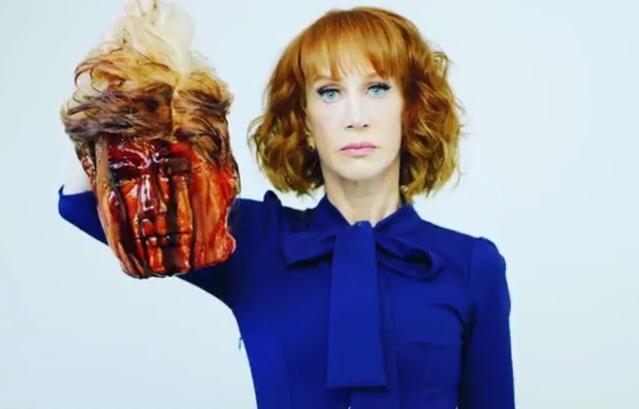 Trump décapité, le gag(e) de mauvais goût d'une humoriste américaine