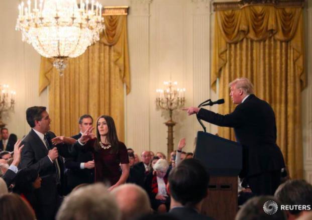 La guerre de Trump contre les médias n'a pas de limites (même pas une vidéo trafiquée)