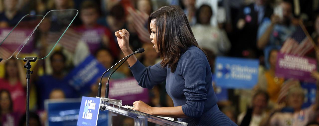 Pourquoi j'ai pleuré en entendant Michelle Obama #EnoughIsEnough