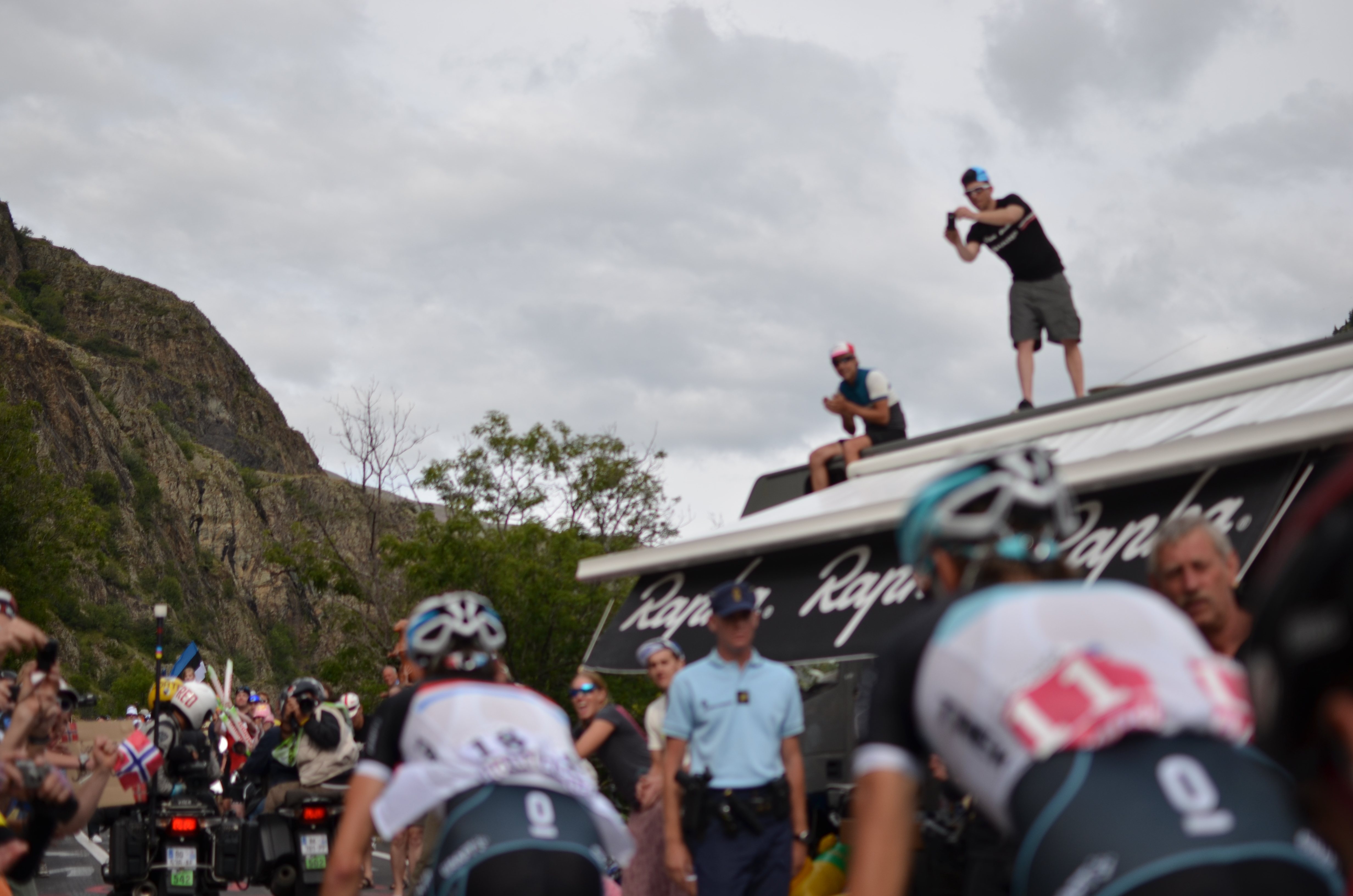 Cycling is the new golf : le Tour de France version haut de gamme