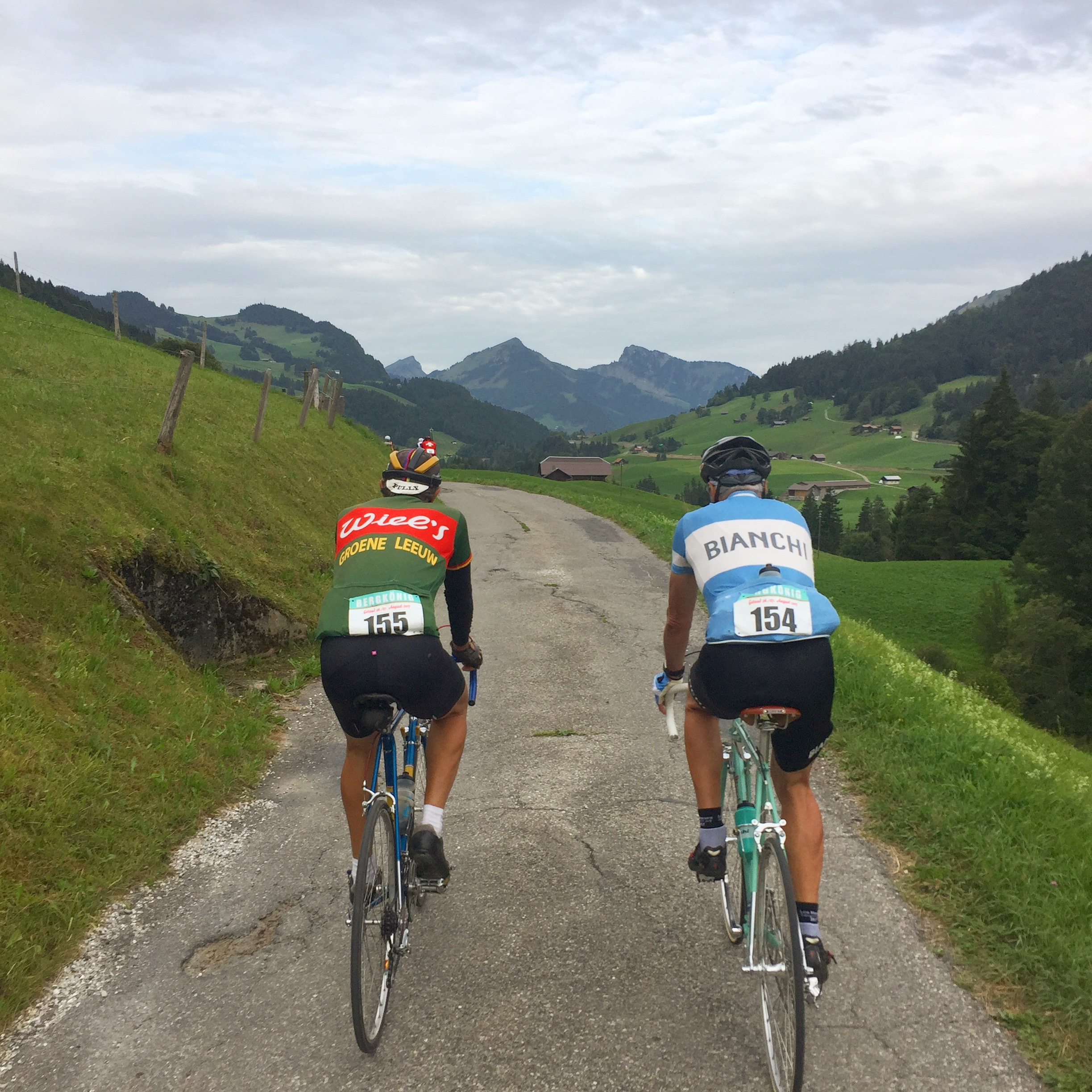 Bergkönig, chic et vélo vintage à Gstaad