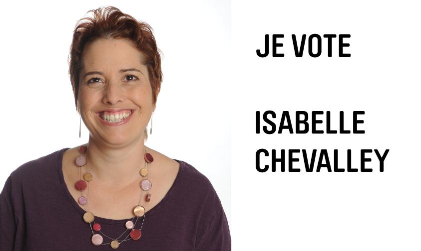 Conseil d'Etat vaudois : pourquoi je voterai Isabelle Chevalley